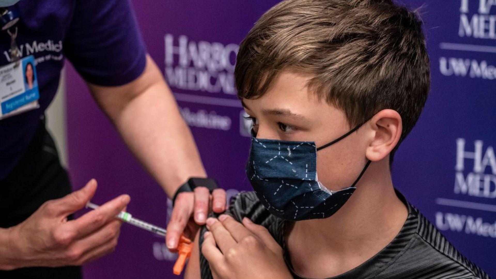 """Европа разреши използването на ваксината на """"Пфайзер"""" при деца от 12 до 15 г."""