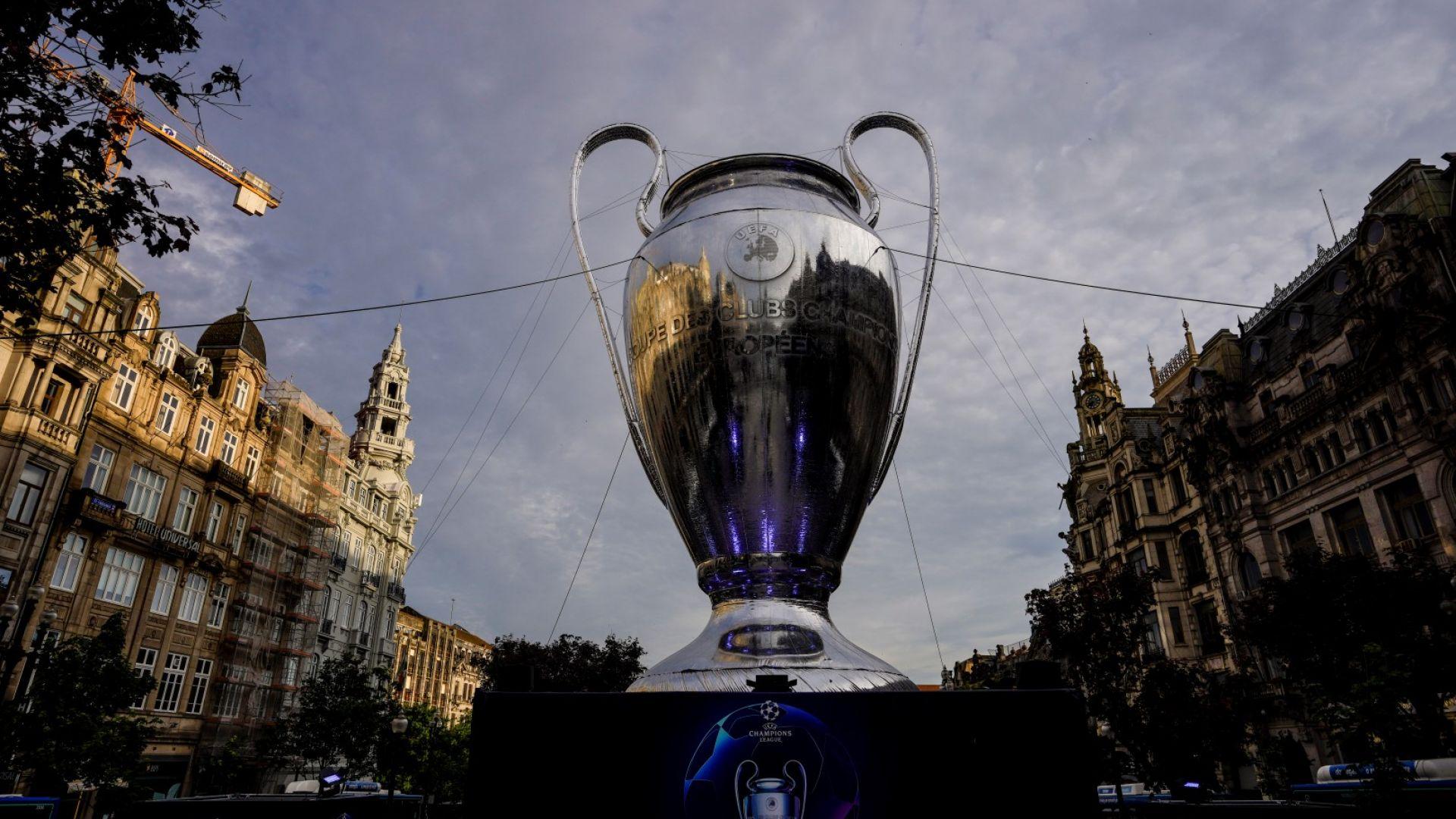 УЕФА обяви любопитна подредба в урните за жребия в Шампионската лига