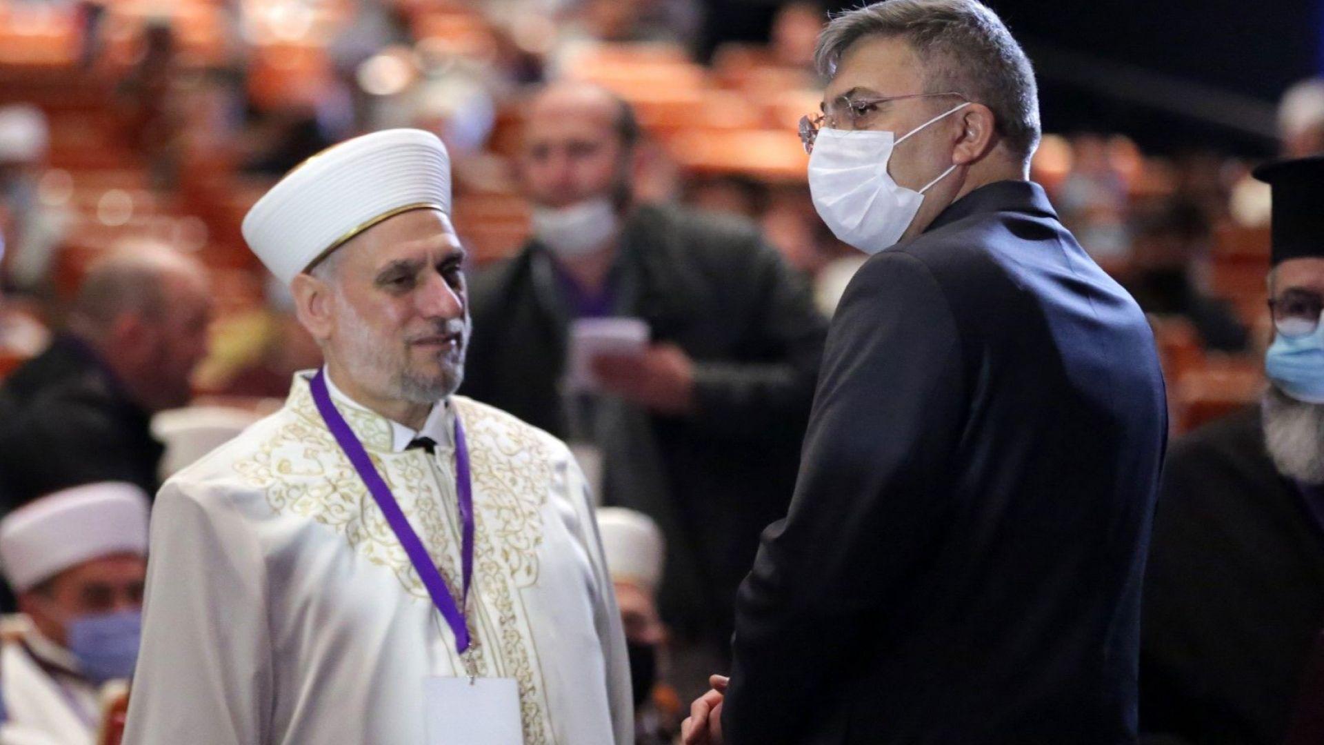Мустафа Алиш Хаджи е преизбран за главен мюфтия на мюсюлманите в България