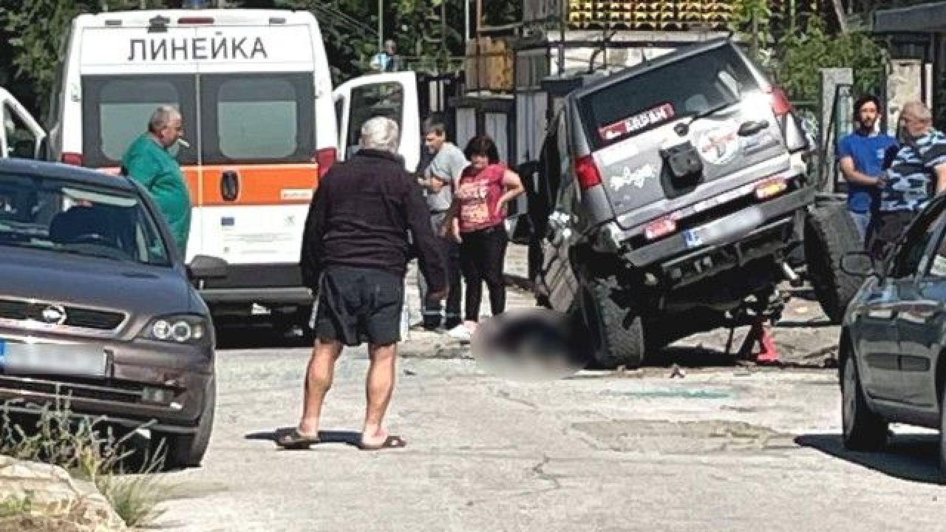 37-годишен мъж загина, след като резервоарът на автомобила му се взриви