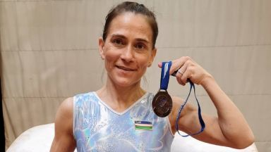 Легендарна 46-годишна гимнастичка се готви за осмата си и последна Олимпиада