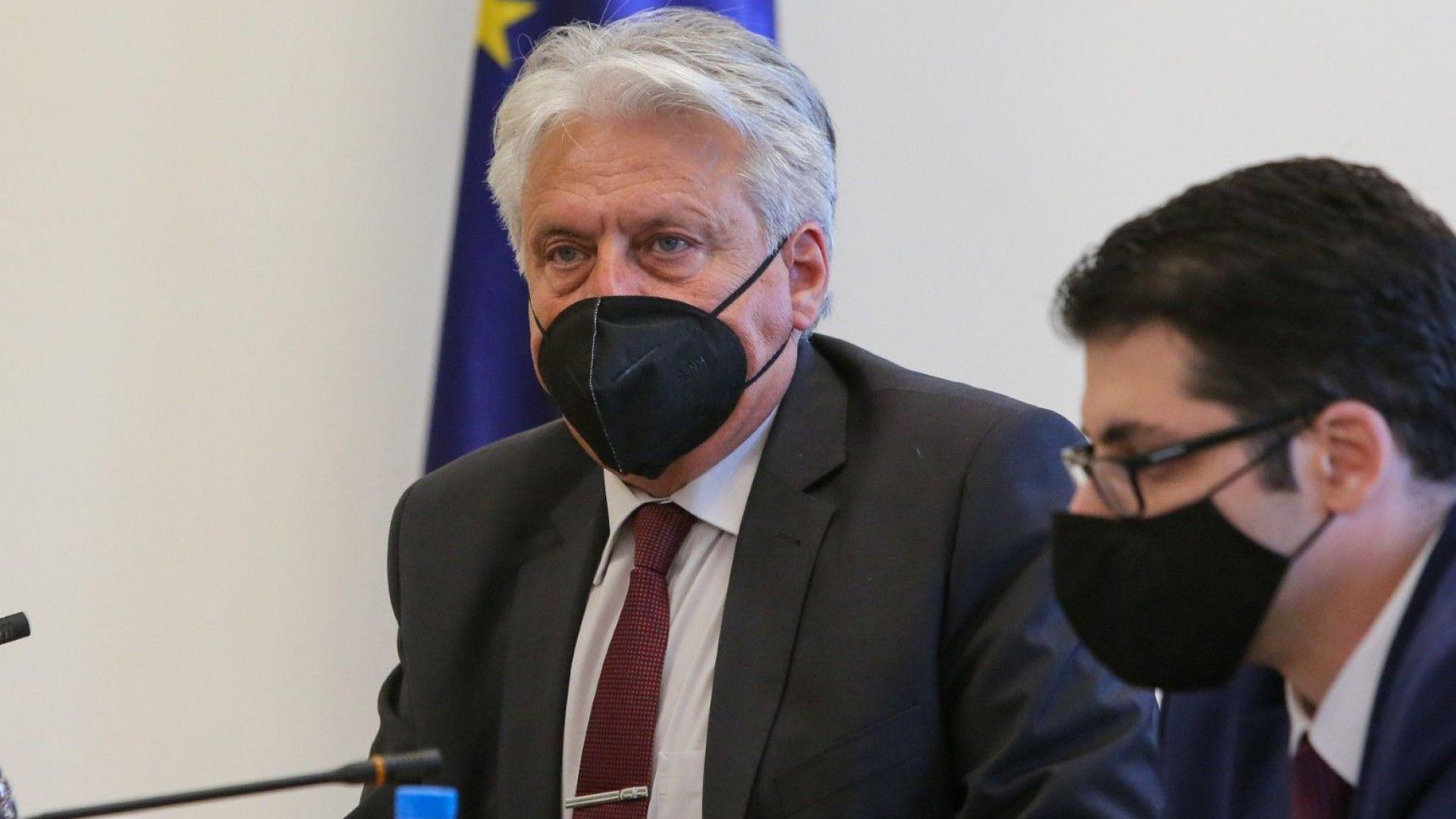 """Бойко Рашков отказа на Иван Гешев и поиска среща със """"следващия главен прокурор"""""""