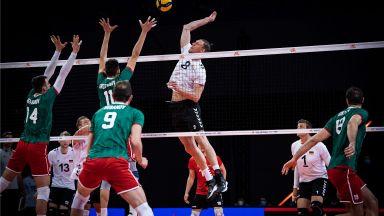 Волейболистите ни пропиляха три мачбола и преклониха глава пред Германия