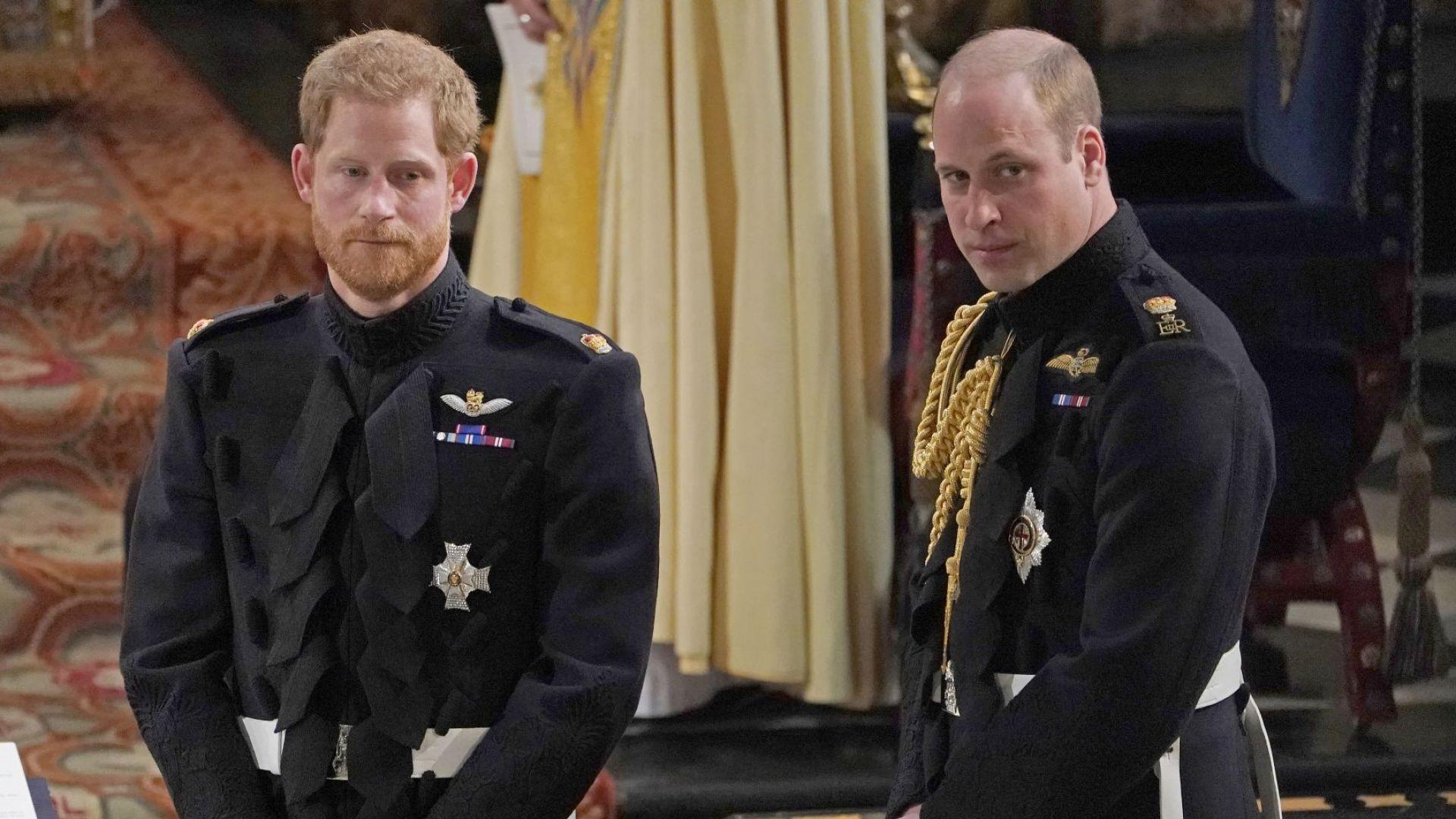 Принц Уилям разочарован от брат си Хари, опасява се да не прекали с разкритията за кралския двор