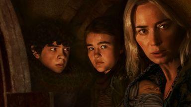 """Филмът на ужасите """"Нито звук 2"""" отново доминира в Северна Америка"""