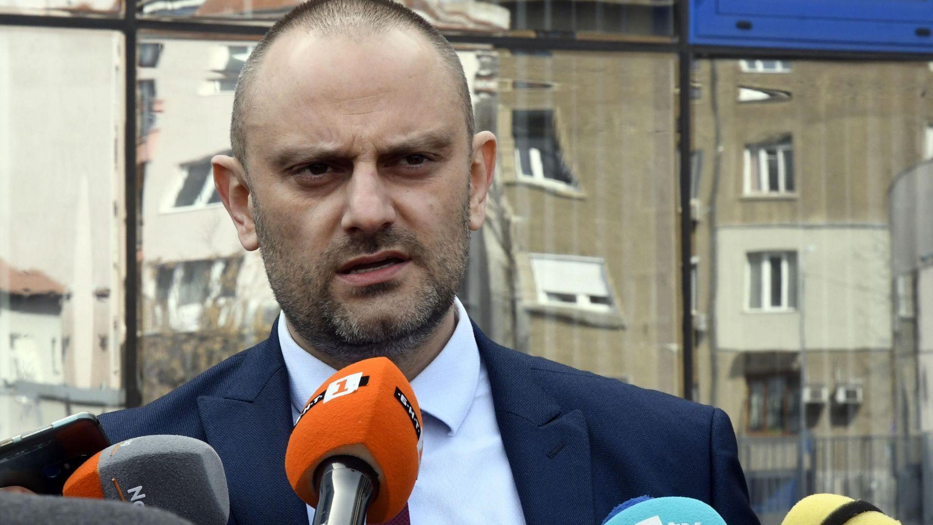 Началникът на ГДБОП също се раздели с поста си