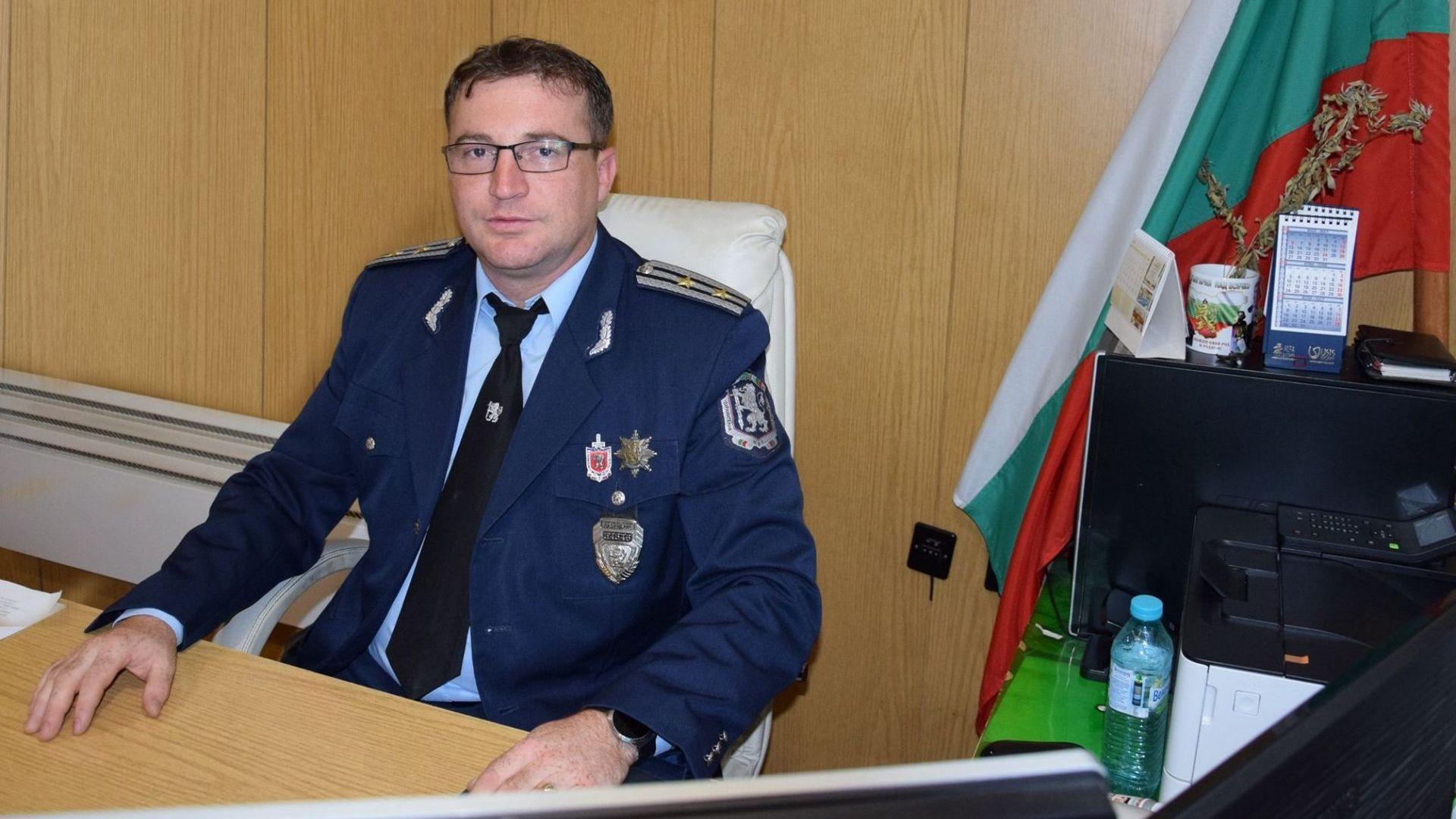 Рокадите в МВР продължават: Смениха и шефа на полицията в Пазарджик