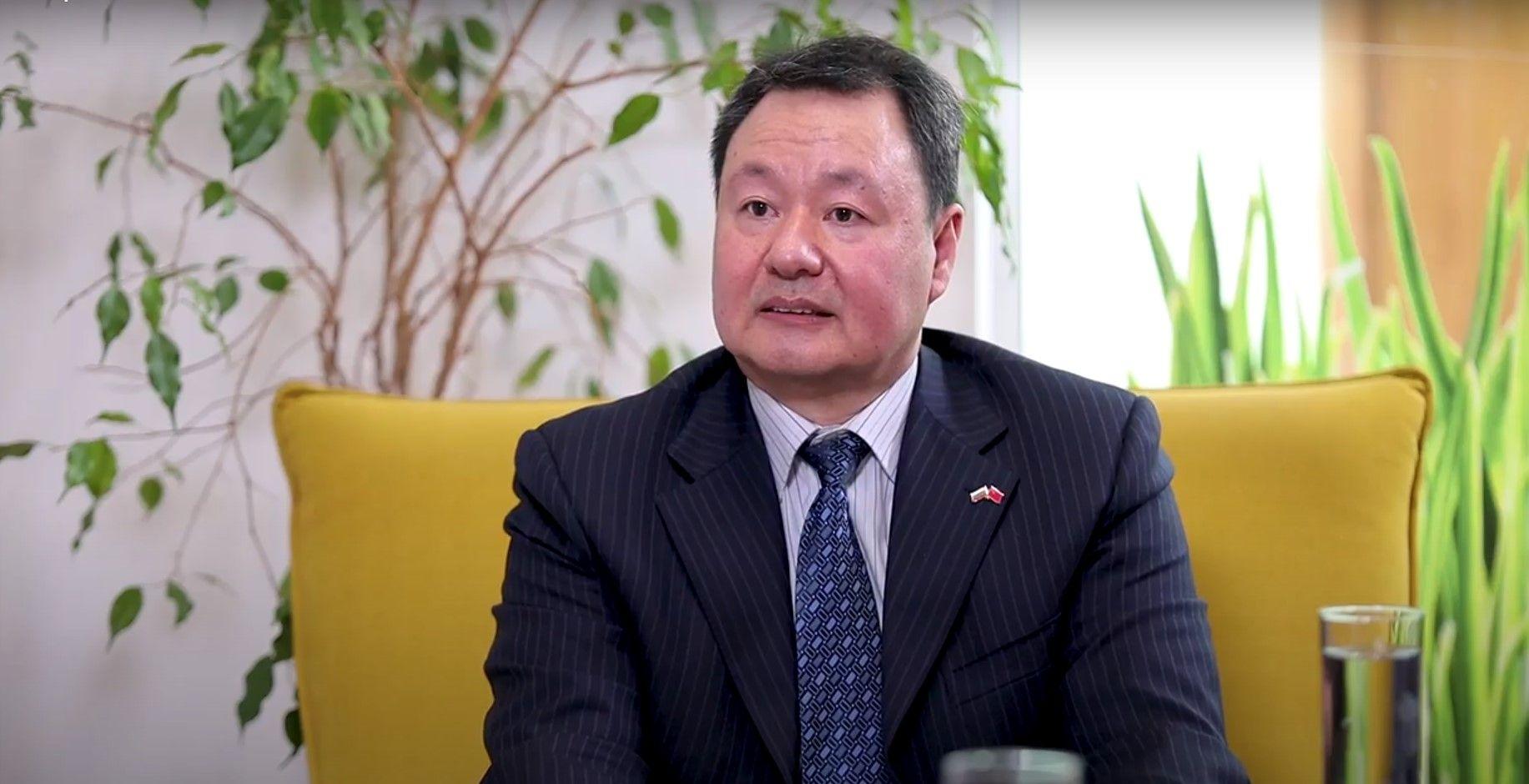 Политическият съветник към Н.П. посланика на КНР - Йен Дзиенцюн