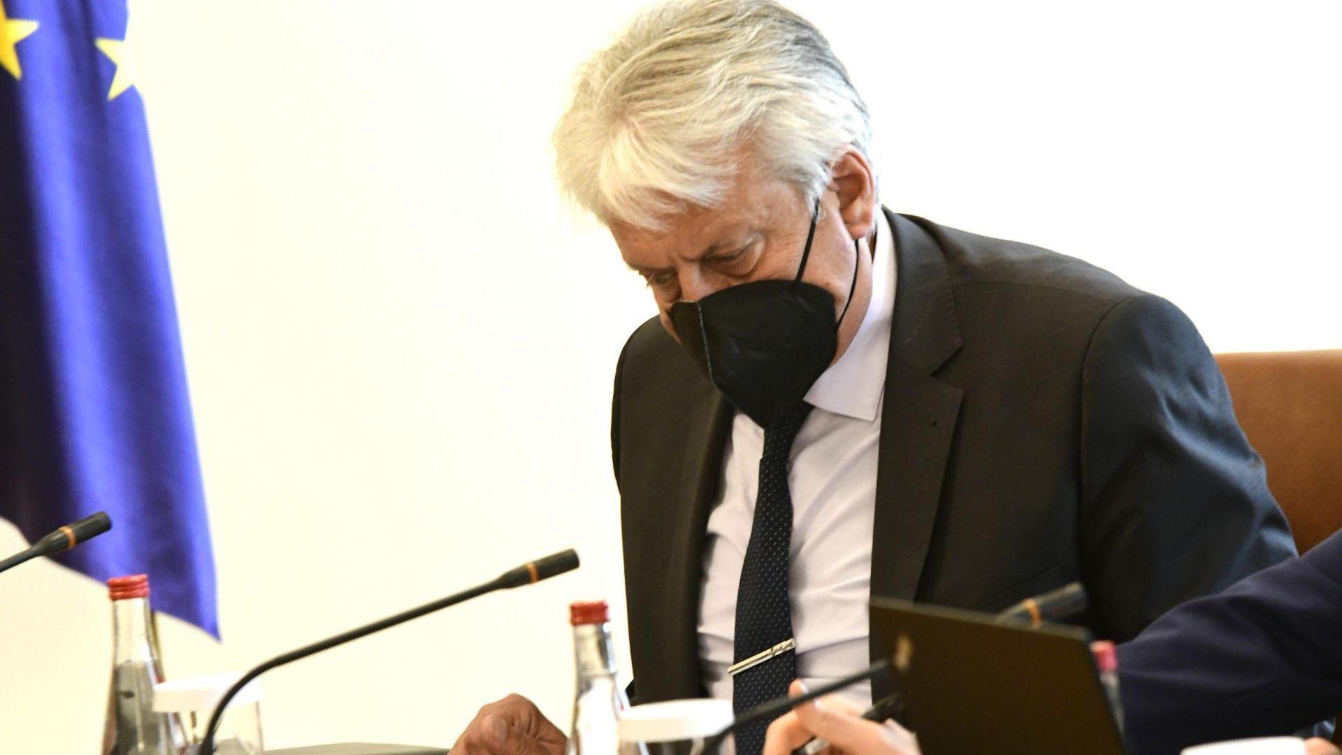Вицепремиерът Бойко Рашков оглавява Националната комисия за борба с трафика на хора