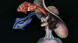 """Синьо огледало"" от Антон-Константин Анастасов в Brave creation art space"