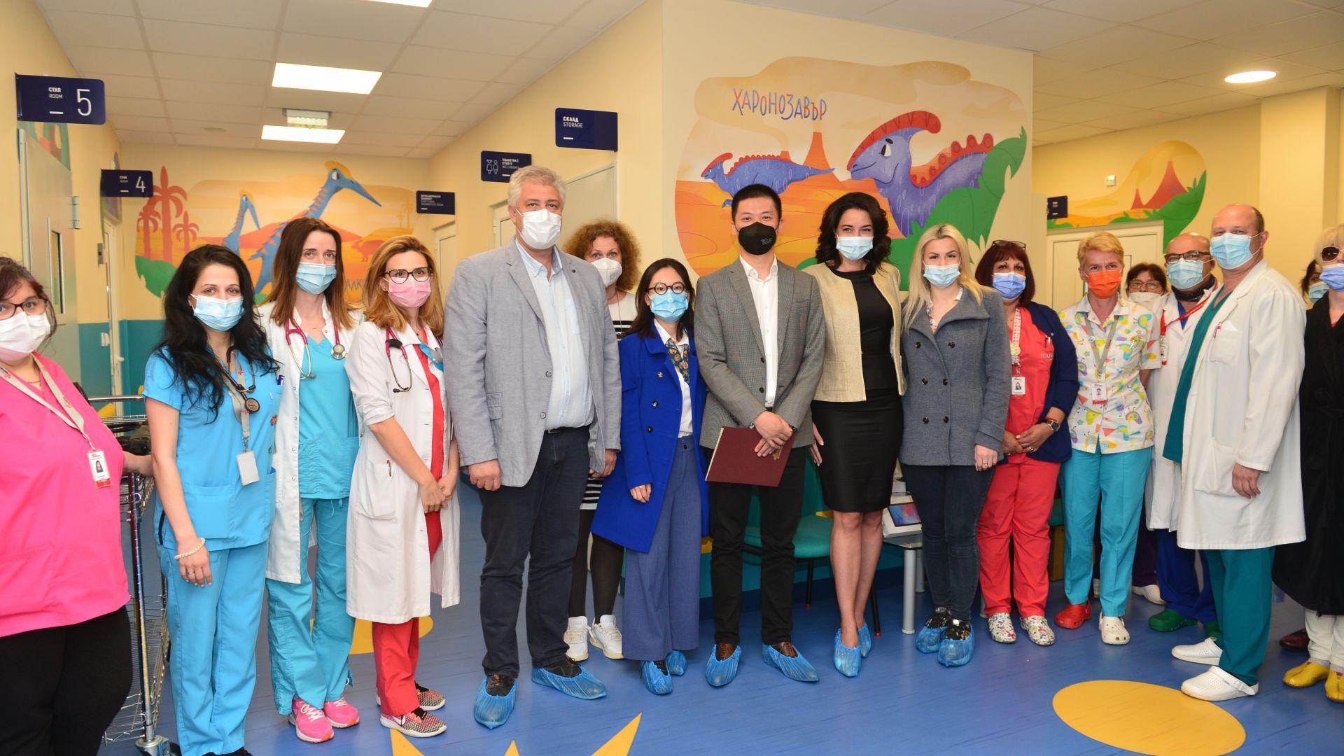 Детските отделения на Пирогов  с нова модерна придобивка