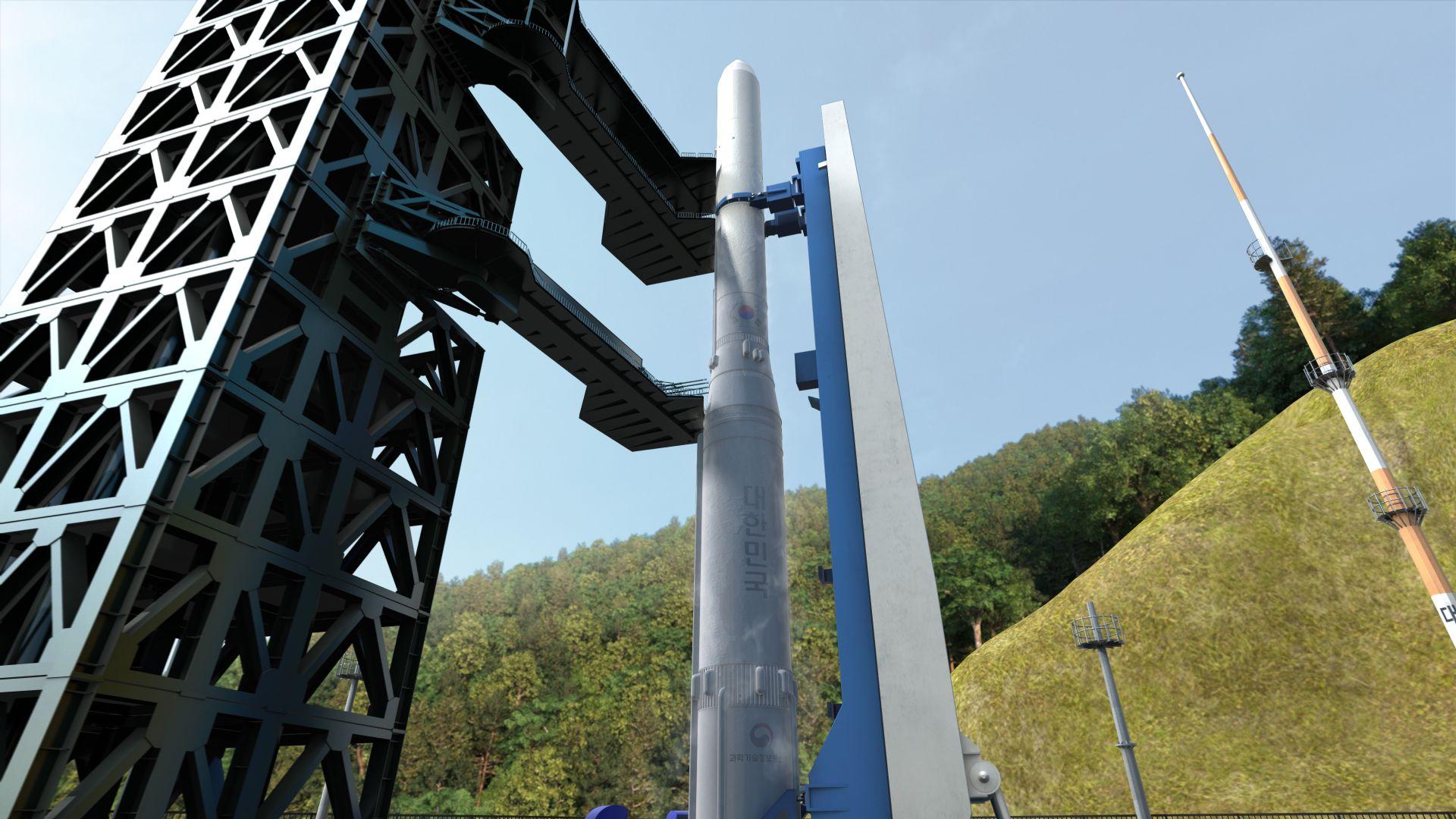 Южна Корея представи своя собствена космическа ракета