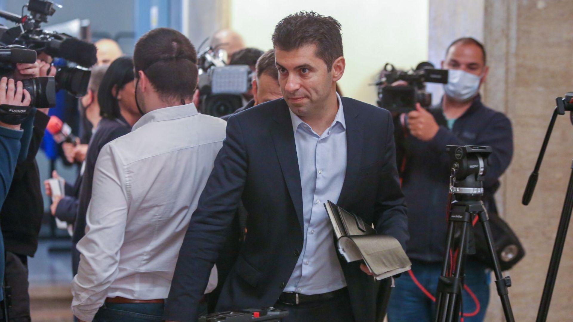 Кирил Петков: Днес в БНБ е внесено искане за проверка на ББР