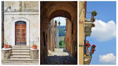 Да минеш по най-тясната улица в Италия