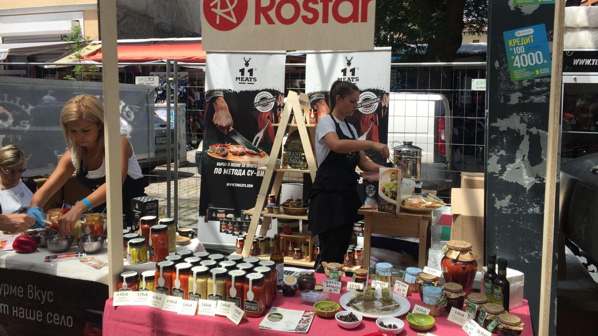 Фестивалът на уличната храна завладява Женския пазар