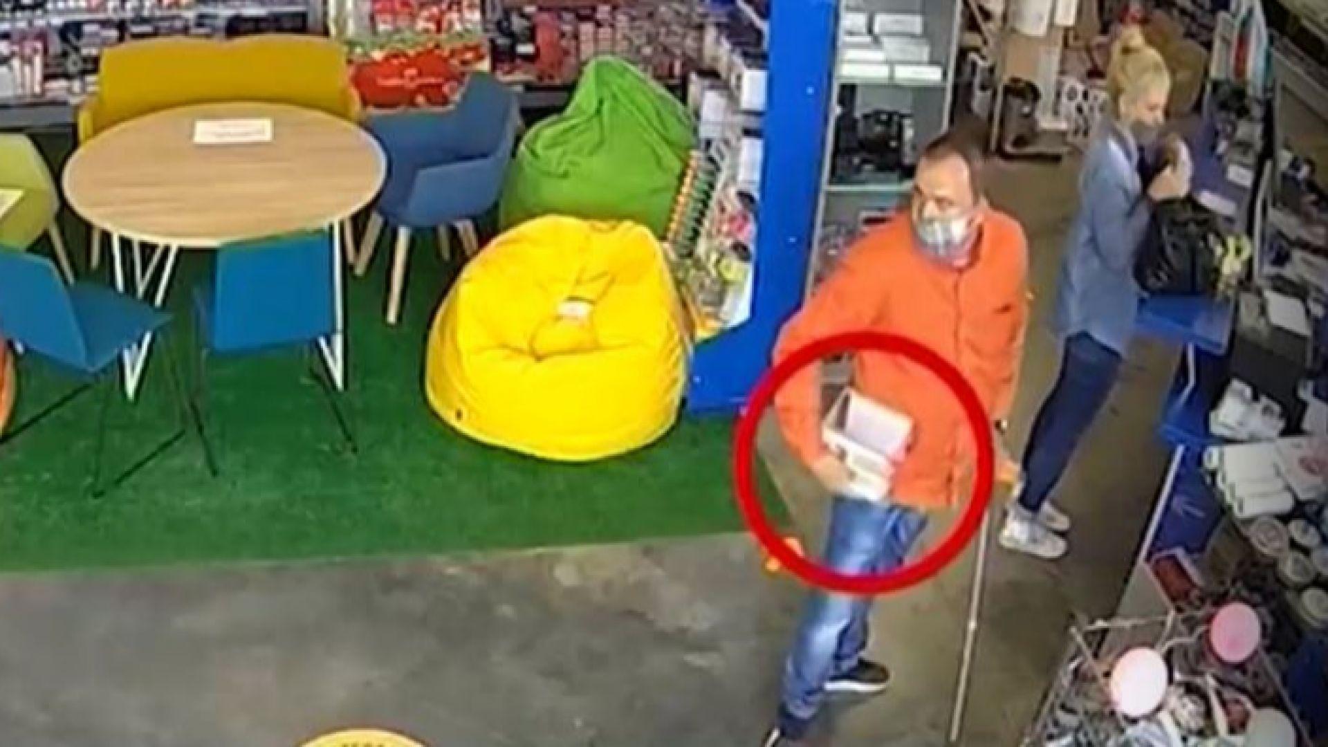 Откраднаха кутия с дарения за болно дете в Плевен (видео)