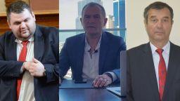 ВКП поиска от Държавния департамент повече данни за Пеевски, Божков и Желязков