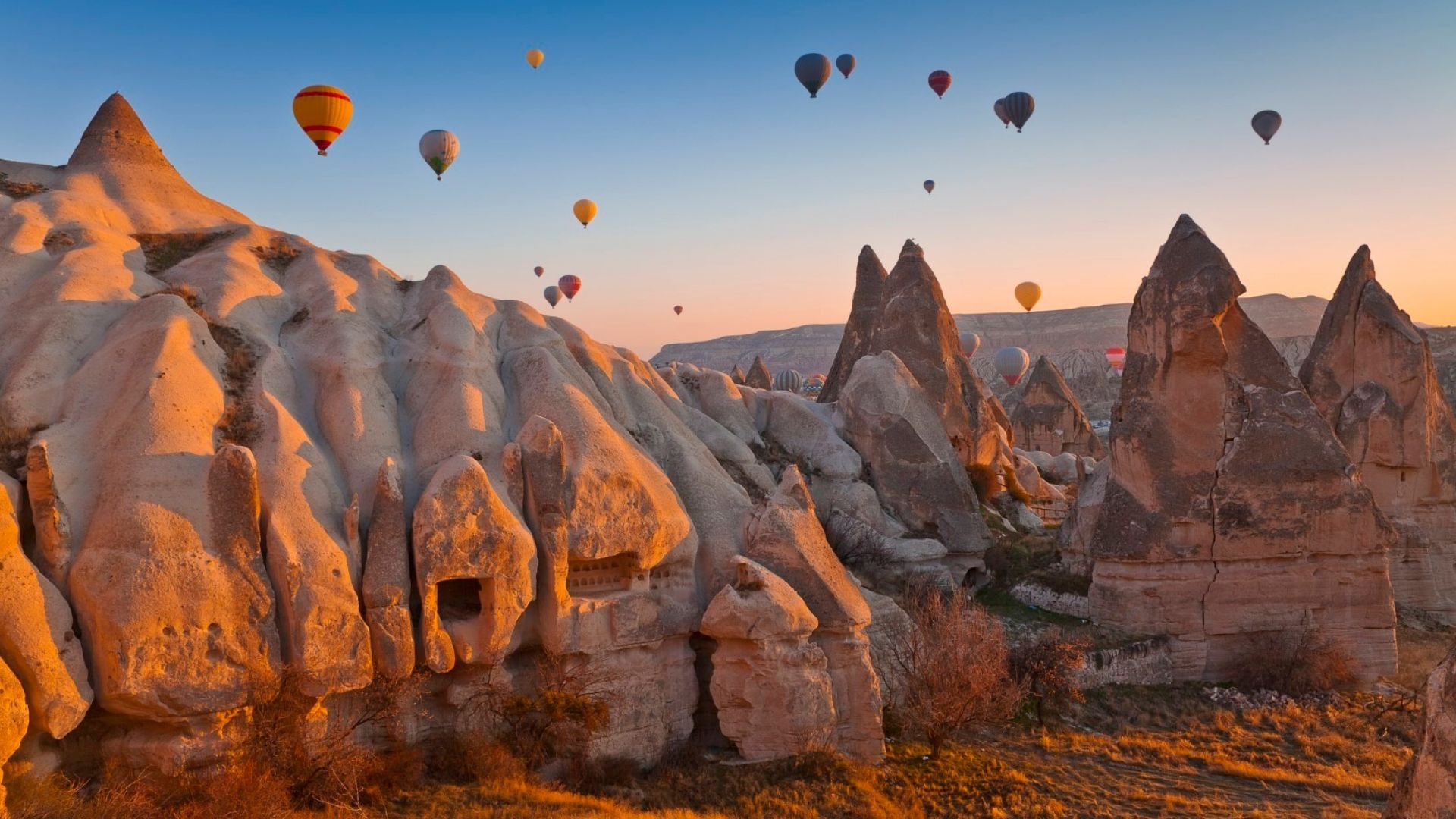 10 от най-красивите места по света за полет с балон (снимки)