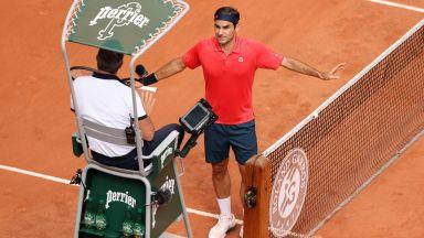 """Официално: Роджър Федерер се оттегли от """"Ролан Гарос"""""""