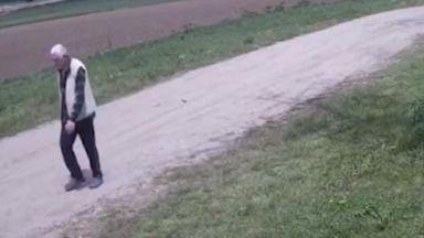 Издирват дядо Петко, изчезнал преди две седмици край Дърманци (видео)