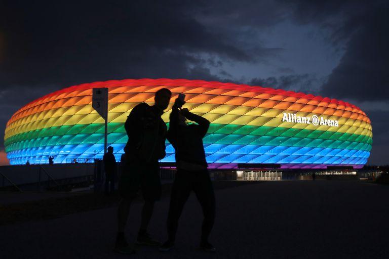 """""""Алианц"""" в Мюнхен ще посрещне трите двубоя на Германия в група F - срещу Франция, Португалия и Унгария. Тук ще има и един четвъртфинал."""