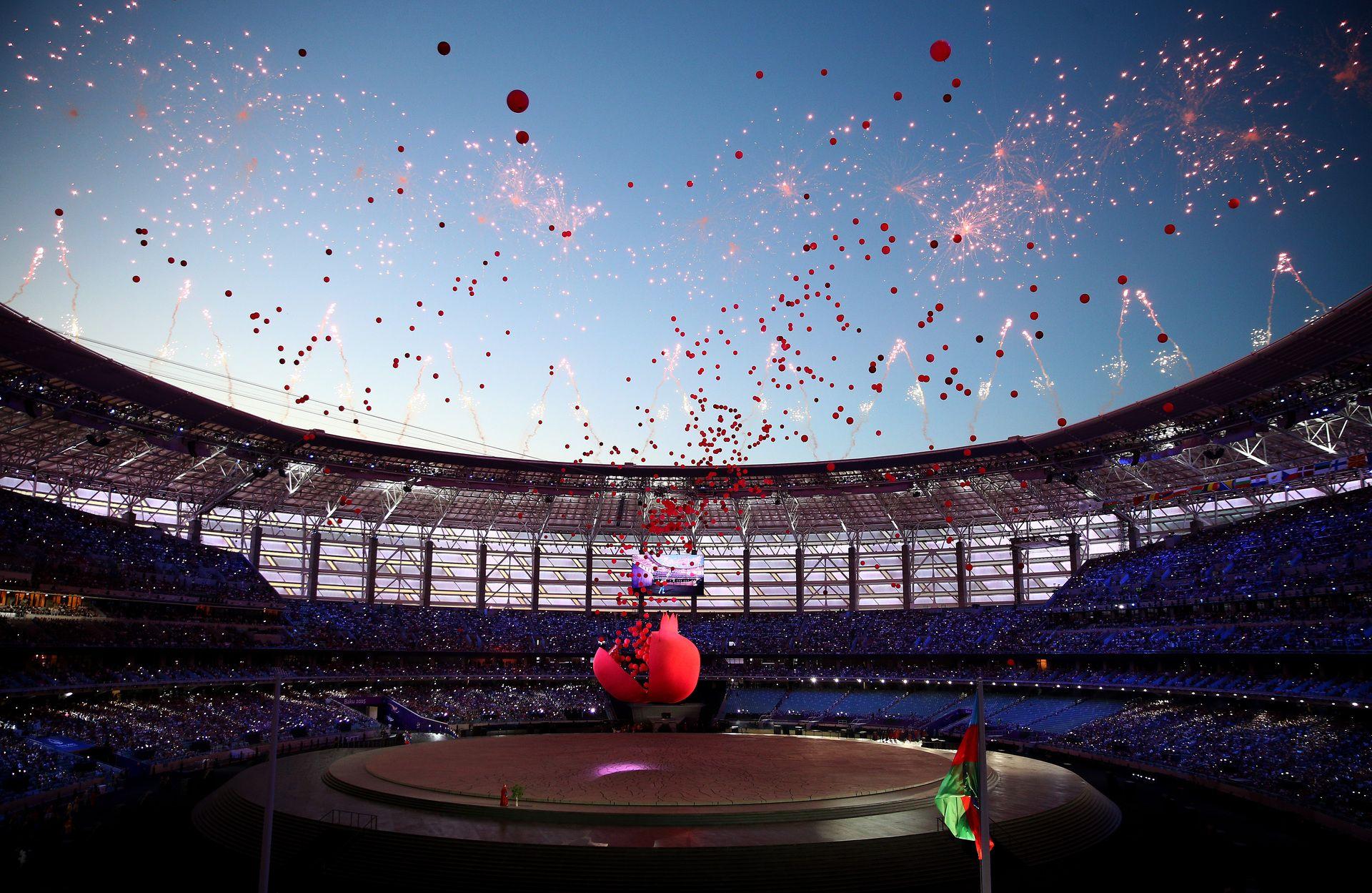 """""""Олимпийски"""" в Баку ще е арена на срещи от група А: Уелс - Швейцария, Турция - Уелс и Швейцария - Турция, както и на двубой от четвъртфиналите."""