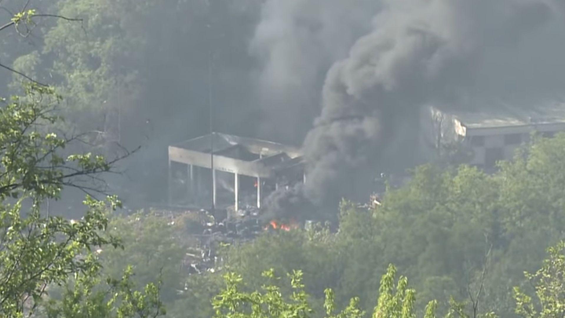 Щетите от взривовете във фабриката за боеприпаси в Чачак са за 1,5-2 млн. евро (видео)