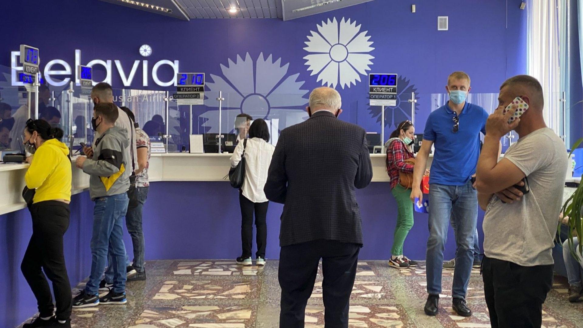 ЕС затвори небето и летищата си за беларуски авиокомпании