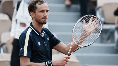 Медведев записа нова победа и разкри: Най-трудните ми мачове са срещу Федерер
