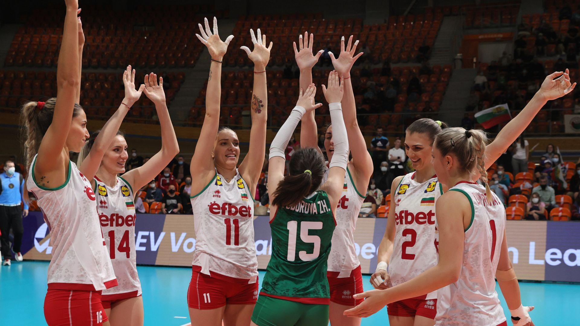 Волейболистките ни зарадваха публиката с трета поредна победа в Златната лига