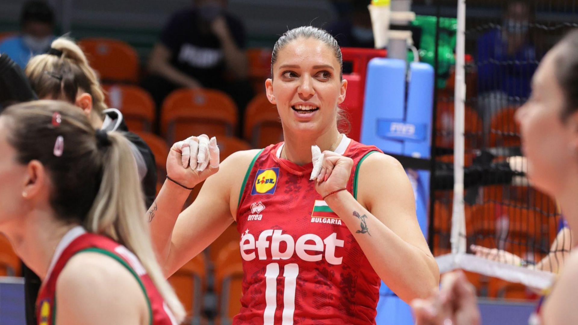 Волейболистките ни не оставиха никакъв шанс и на Украйна - 3:0