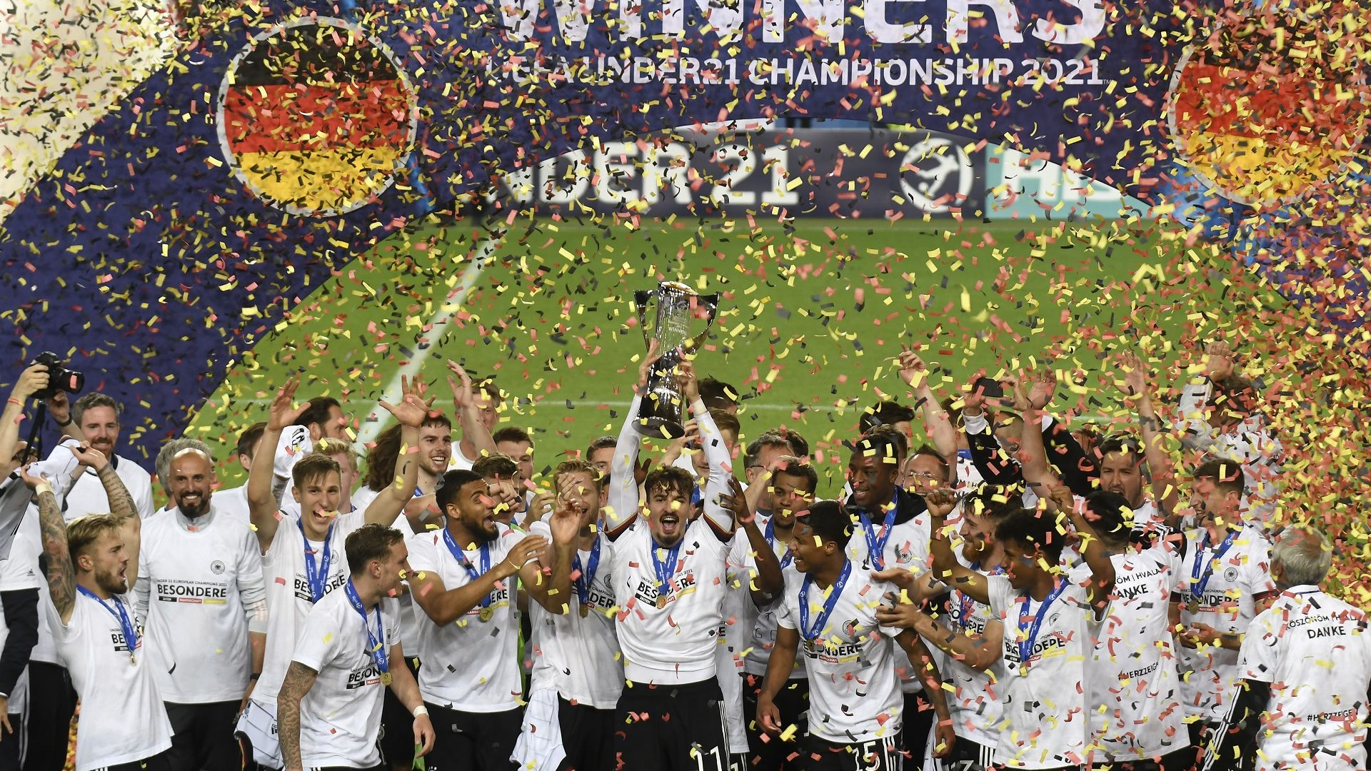 Младите немци стъпиха на европейския футболен връх