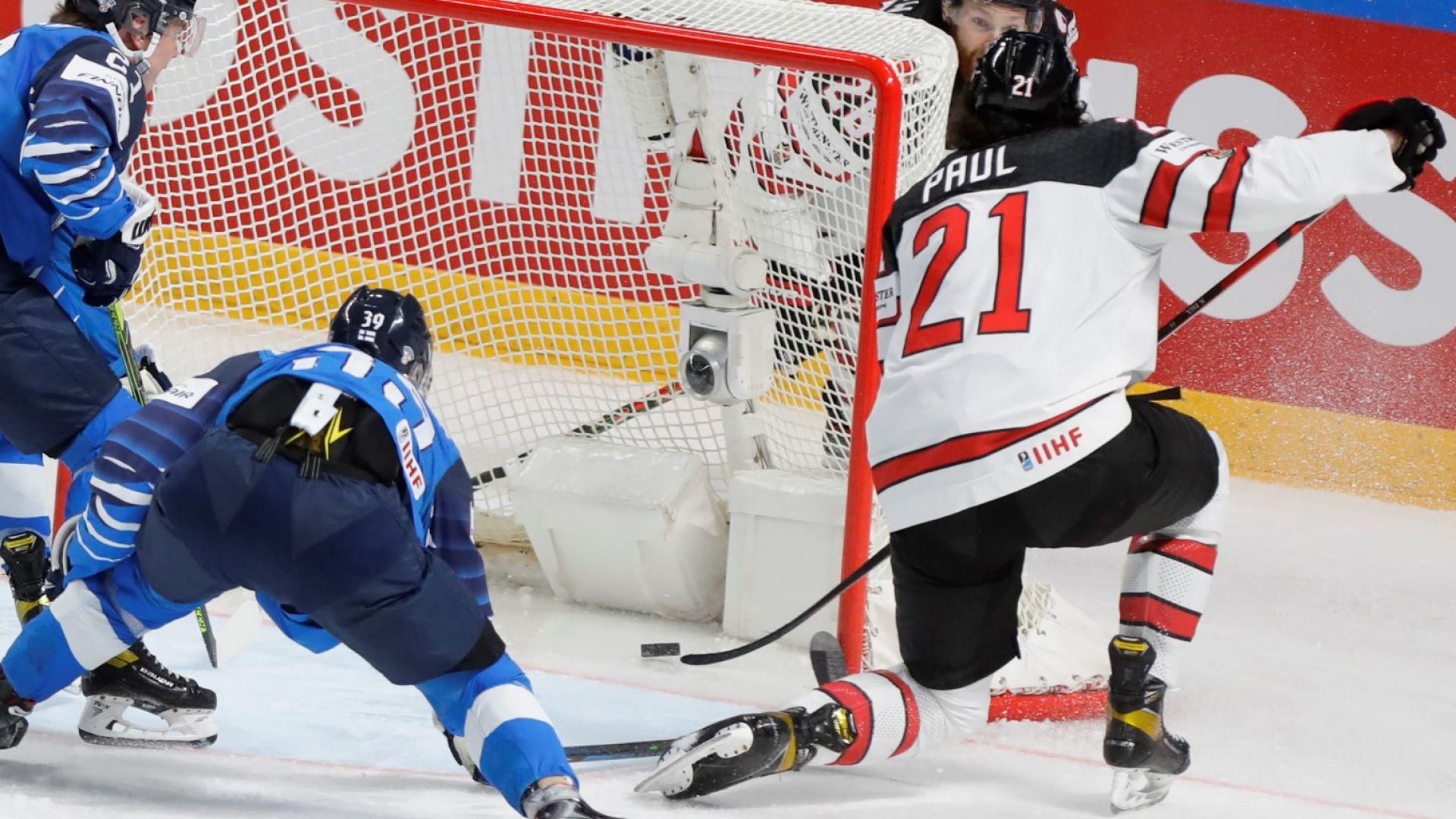 Канадците позлатиха хокейната си приказка с катастрофално начало и епичен финал