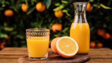 Портокаловият сок е полезен за сърдечносъдовата система и понижава риска от деменция