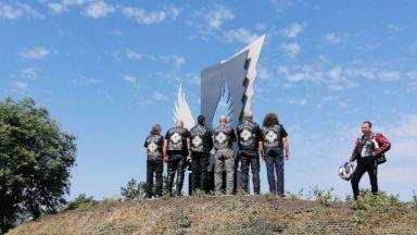 Във Варна откриха Монумент на загиналия моторист