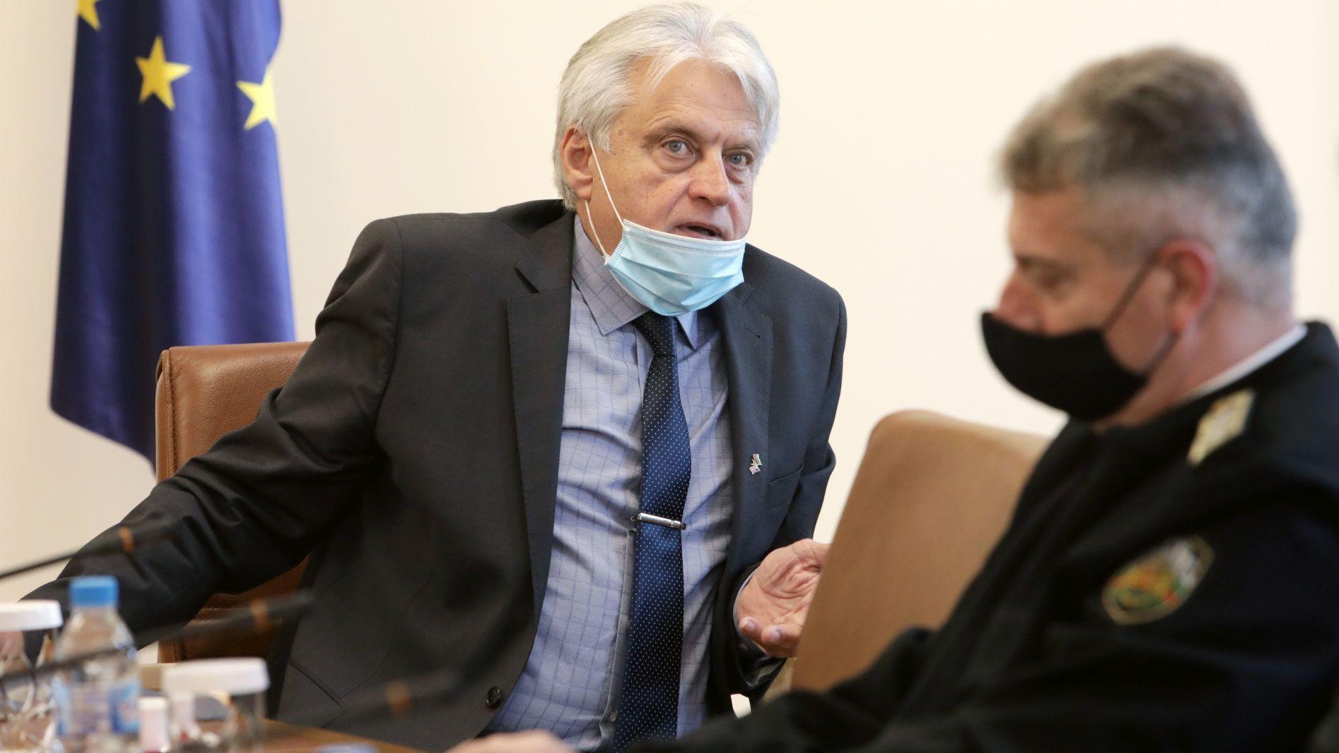 Вътрешният министър Бойко Рашков
