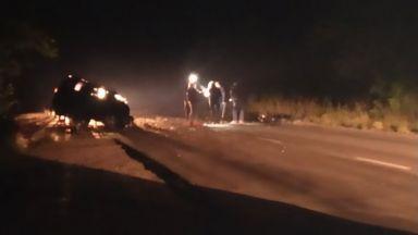 Не успяха да спасят 5-годишното дете, ранено при челния удар край Бургас