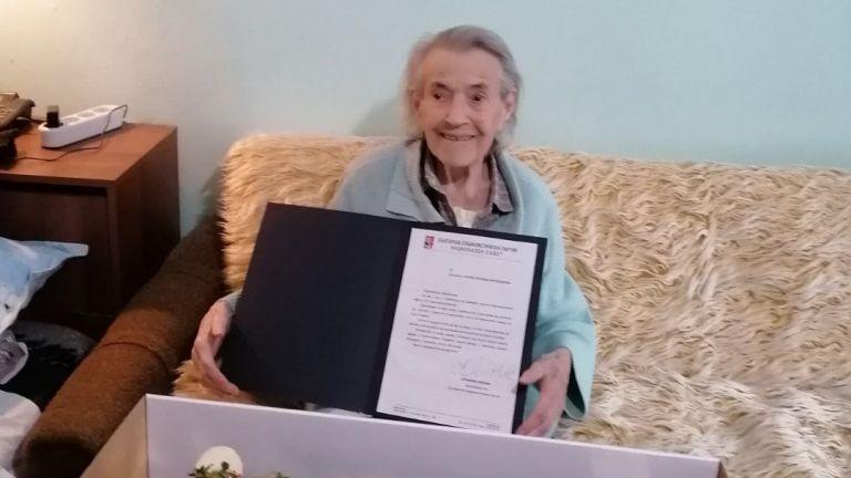 Последната партизанка в България Златка Петкова Карабашева почина на 100