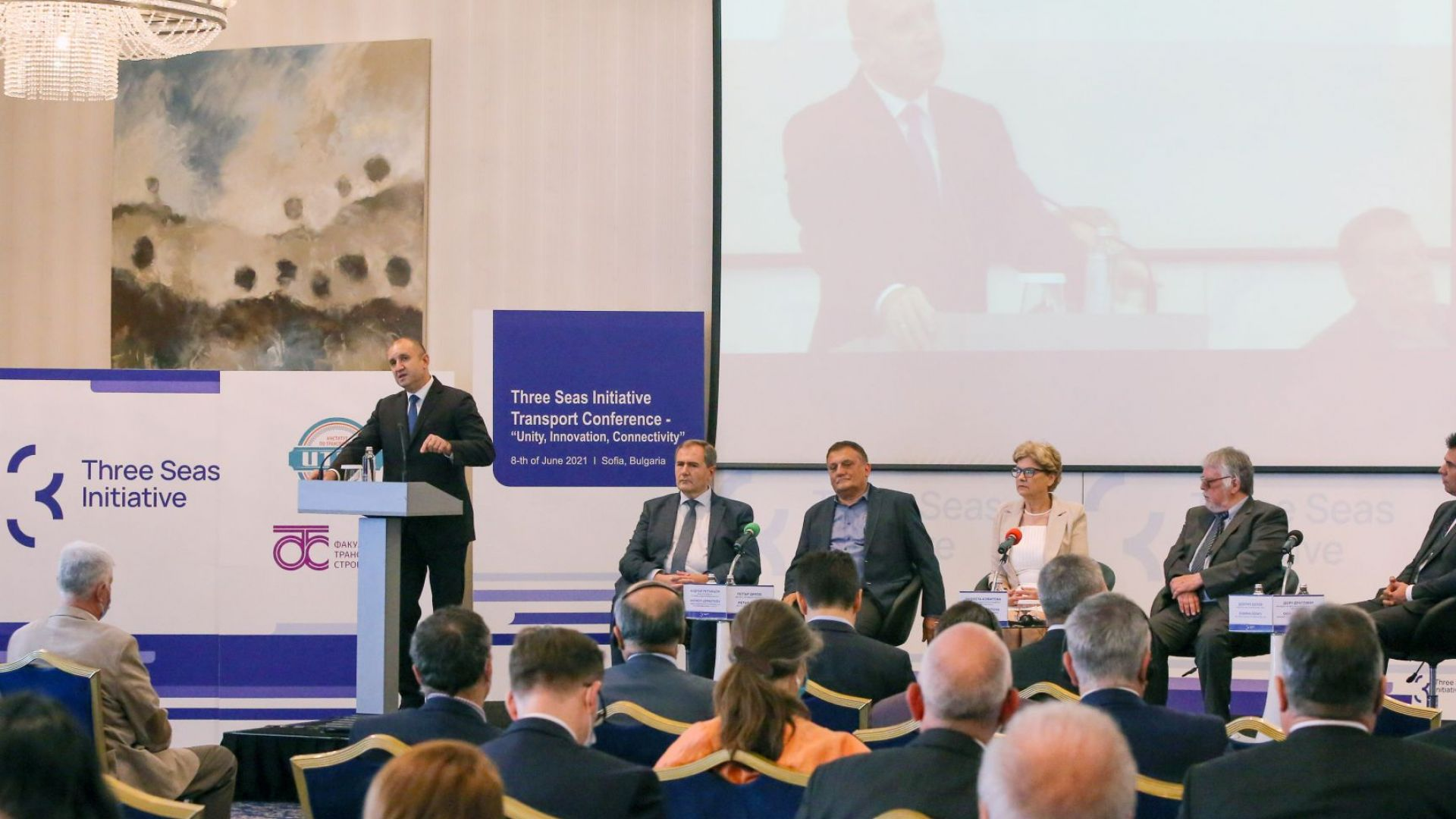 Румен Радев: Свързаността е изключително важен фактор за икономическо и социално развитие