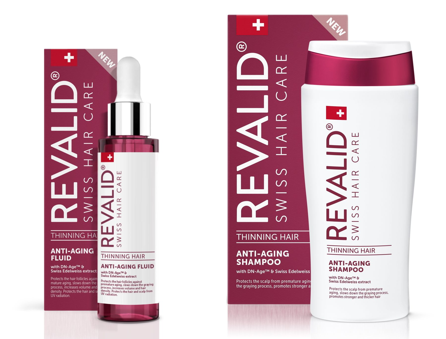 Revalid Packshot AntiAging Shampoo