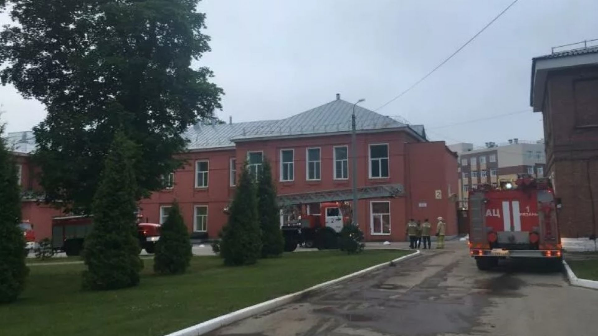 Трима загинали при пожар в болница в руския град Рязан