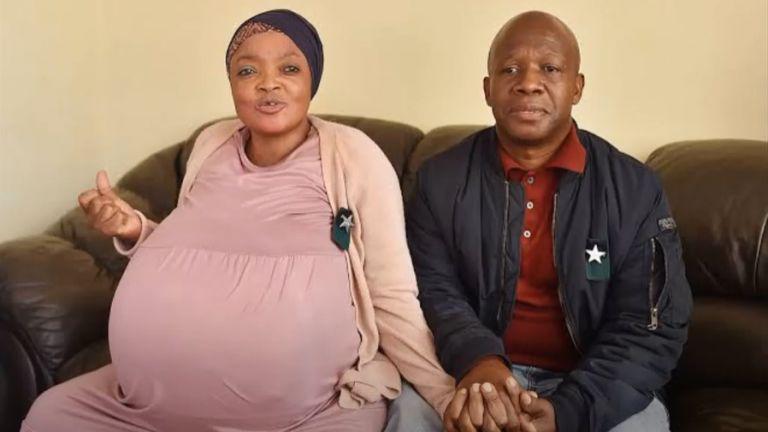 37-годишна южноафриканка счупи световния рекорд на Гинес, след като роди