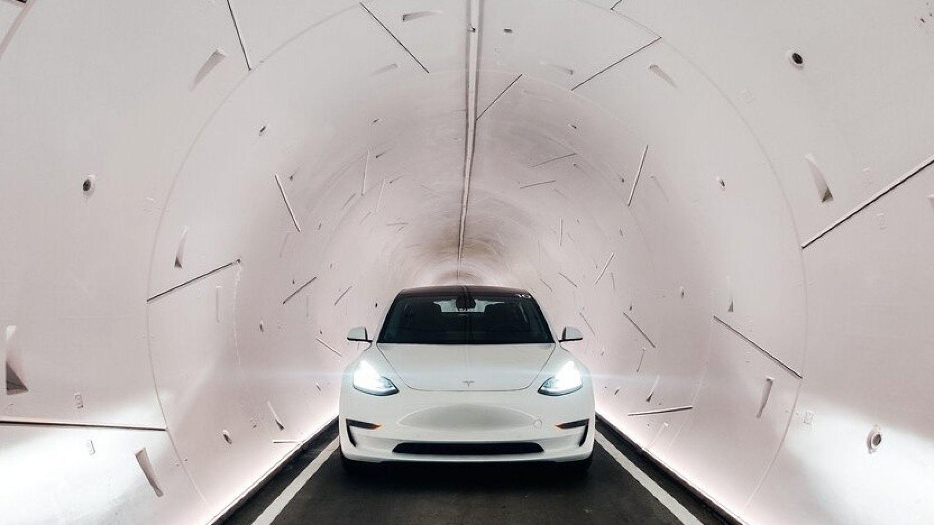 Пуснаха тунелите на Илон Мъск в Лас Вегас
