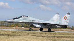 Хипотези за падането на изтребителя МиГ-29 в Черно море