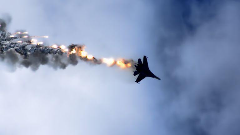 Падането на военния МиГ-29 в Черно море по време на