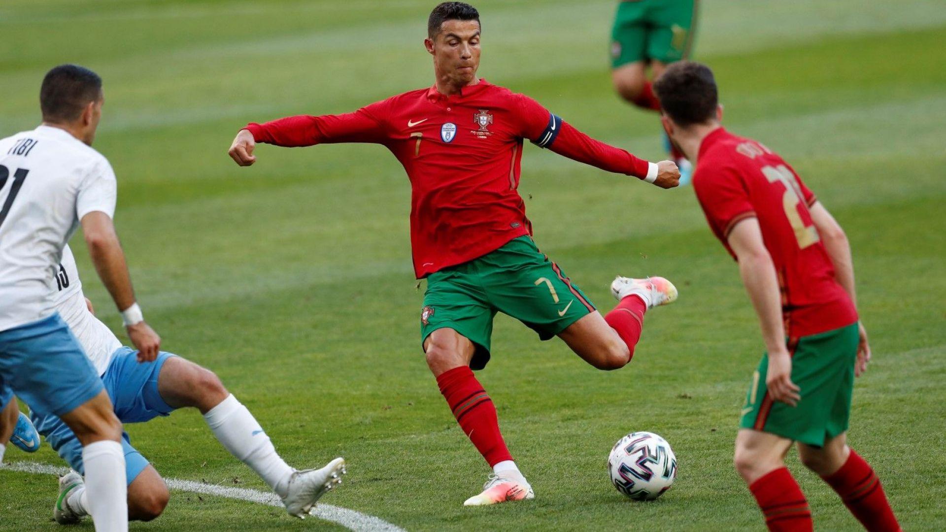 Роналдо докосва още един велик рекорд, може да го бие на Евро 2020
