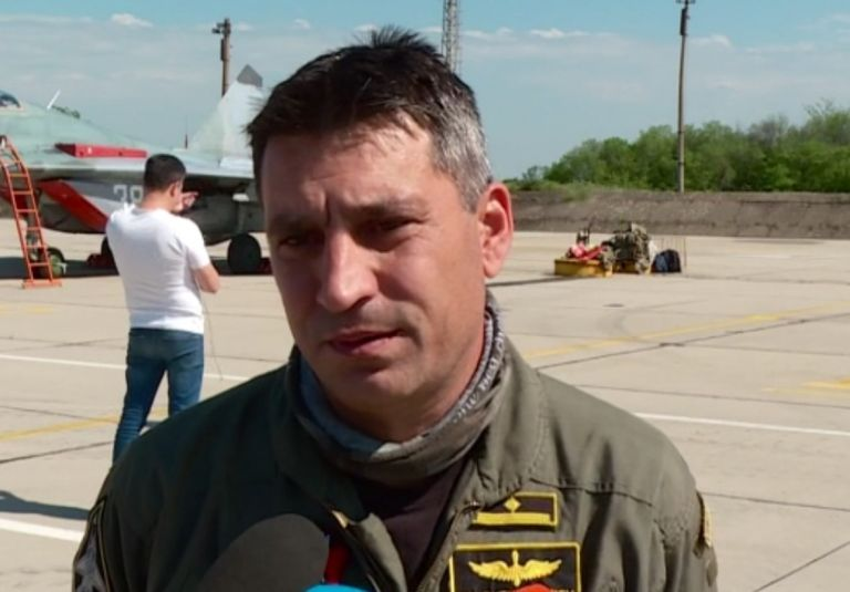 Загиналят пилот майор Валентин Терзиеев