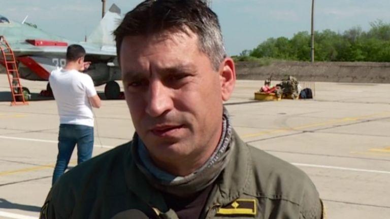 Изчезналият при инцидента в Черно море майор Валентин Терзиев е