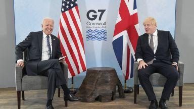 """Британският премиер нарече преговорите с Байдън """"глътка свеж въздух"""" (видео)"""