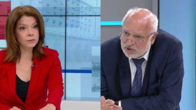 Скандал в БНТ: Министър Минеков и Надя Обретенова в остър спор